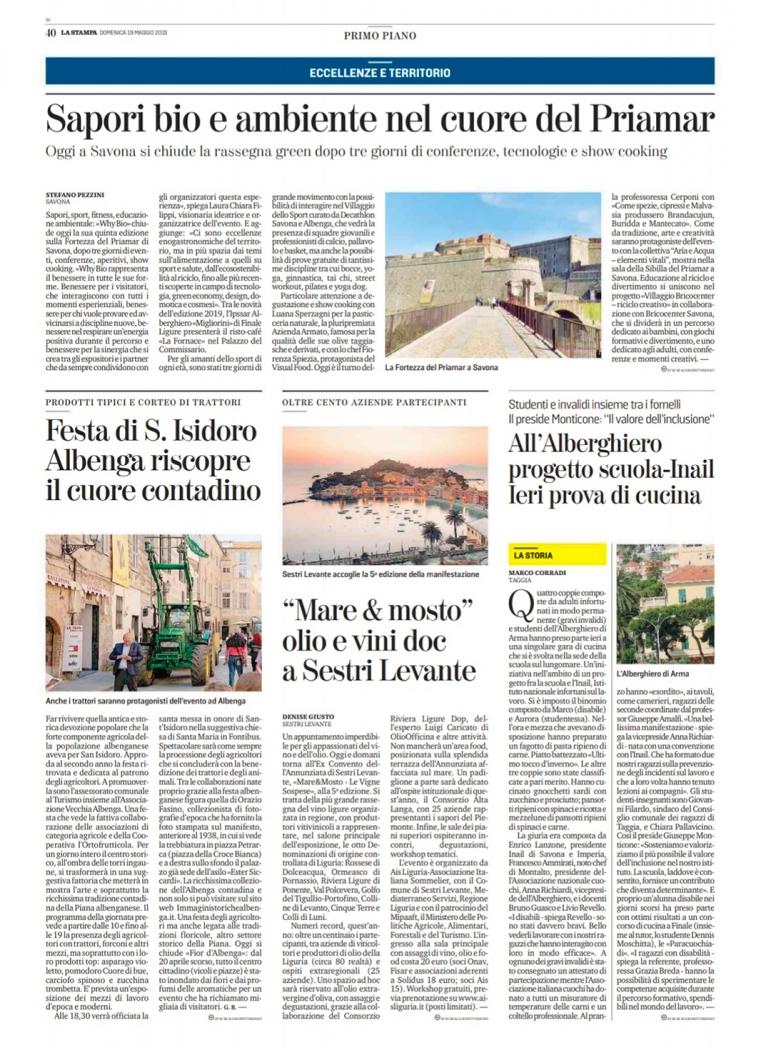"""""""Mare & Mosto"""" olio e vini doc a Sestri Levante"""