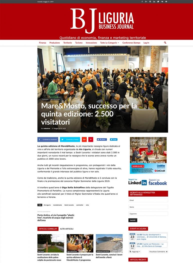 Mare&Mosto, successo per la quinta edizione: 2.500 visitatori